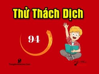 thử thách dịch Việt Anh TiengAnhOnline.com